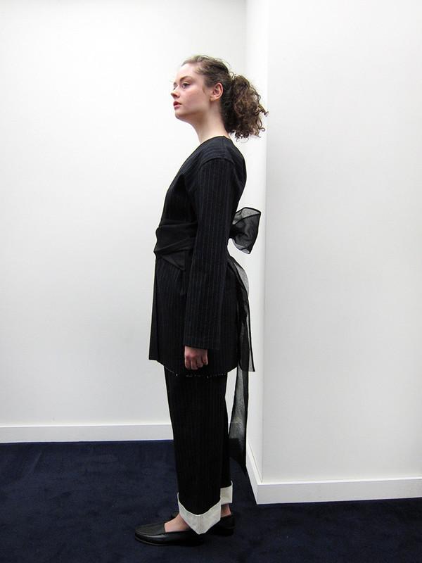 Rowena Sartin Waist Scarf Jacket
