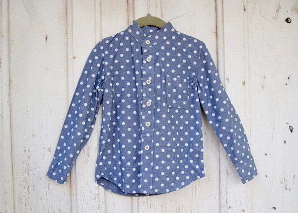 Nico Nico: Polkadot Buttondown