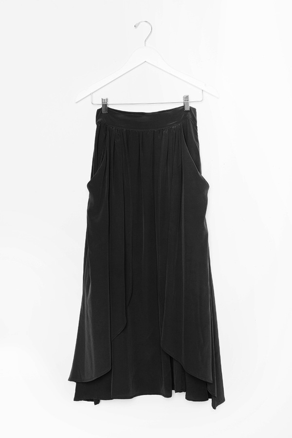 Kieley Kimmel Swing Skirt | black