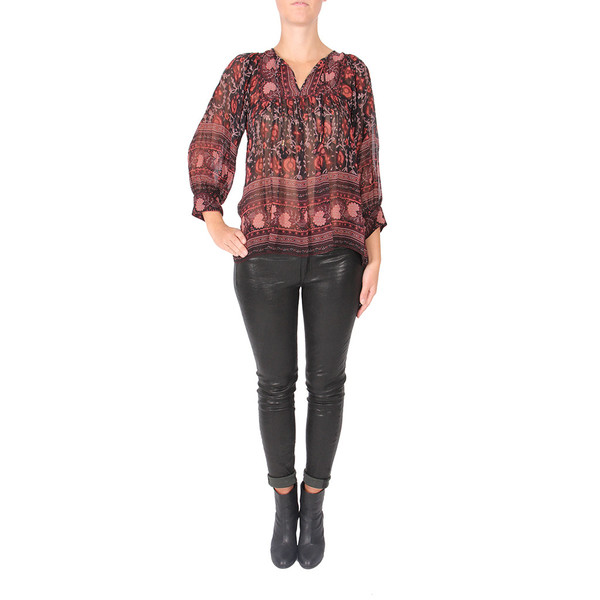 Ulla Johnson Bea Silk Blouse