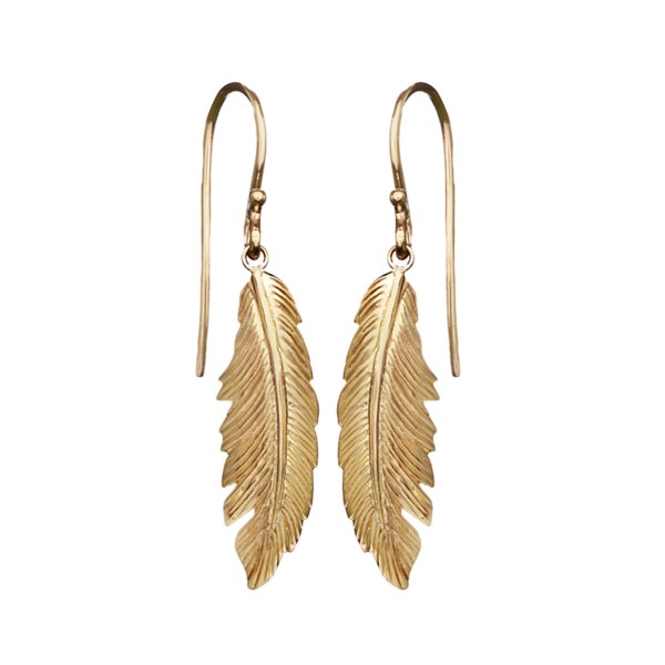 Manon Feather Earrings