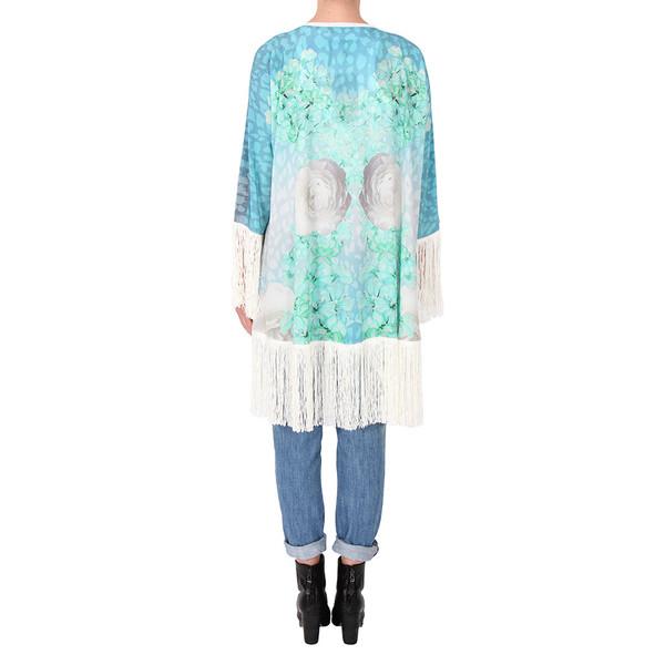Athena Procopiou Grecian Blue Kimono
