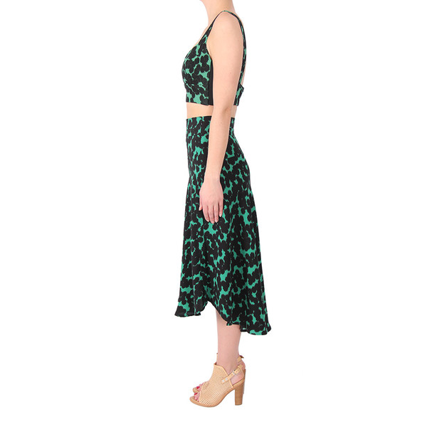 A.L.C. Green Corso Skirt