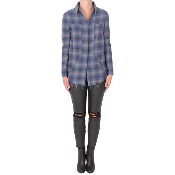 RtA Joplin Plaid Flannel Shirt