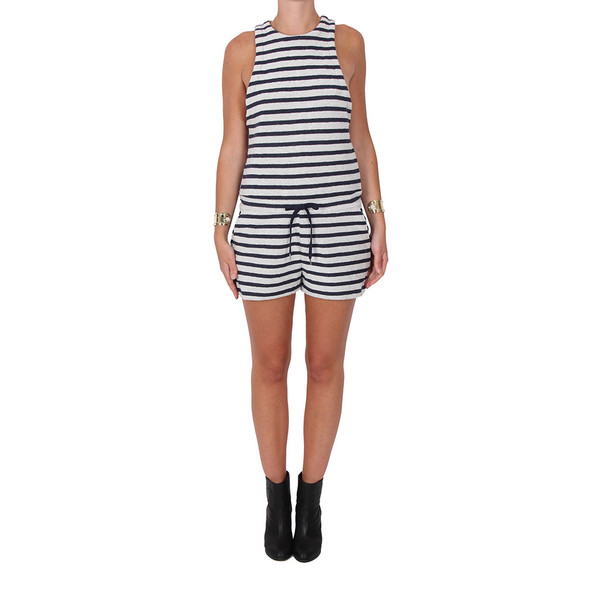T by Alexander Wang French Terry Romper