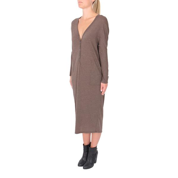 Raquel Allegra V-Neck Dress
