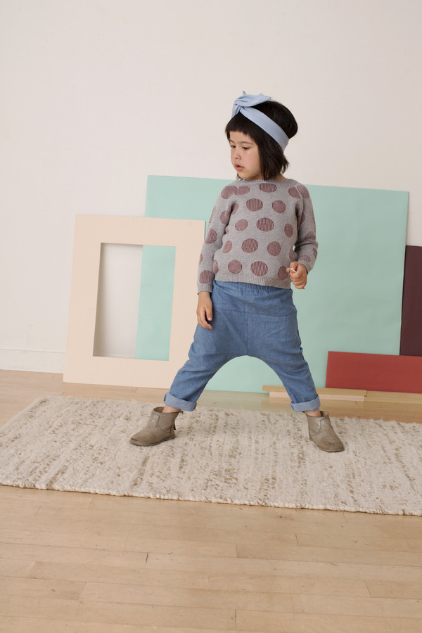 Kids' Micaela Greg Chambray Pants