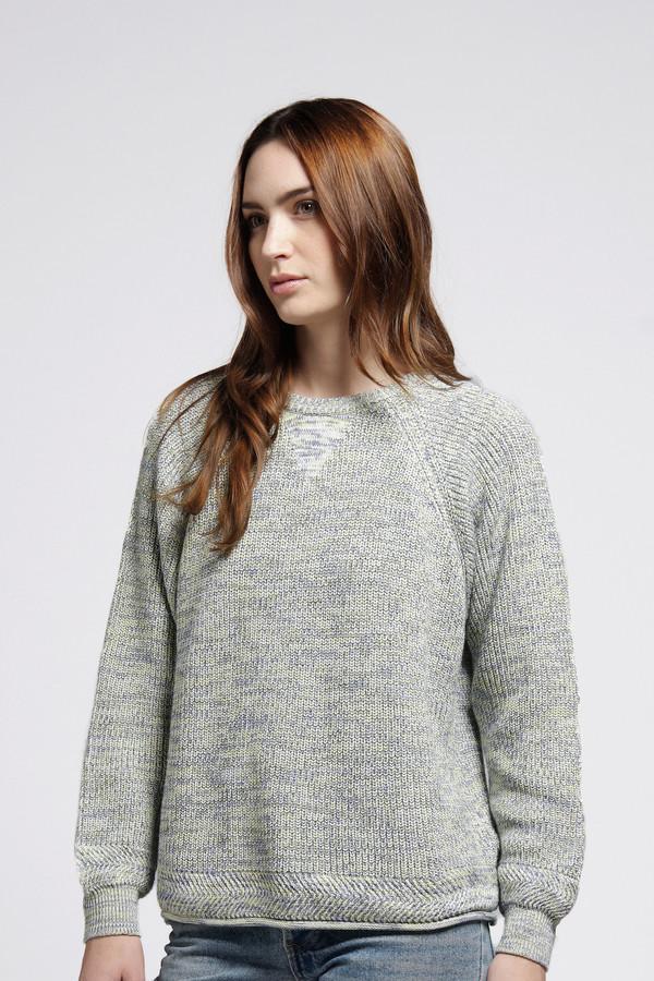 Seafoam Twist Sweater