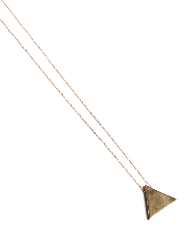 Laura Lombardi Triangle Necklace