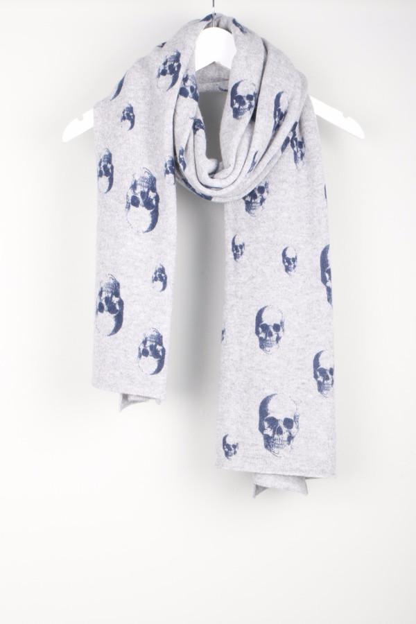 Skull Cashmere Multi Dexter Scarf