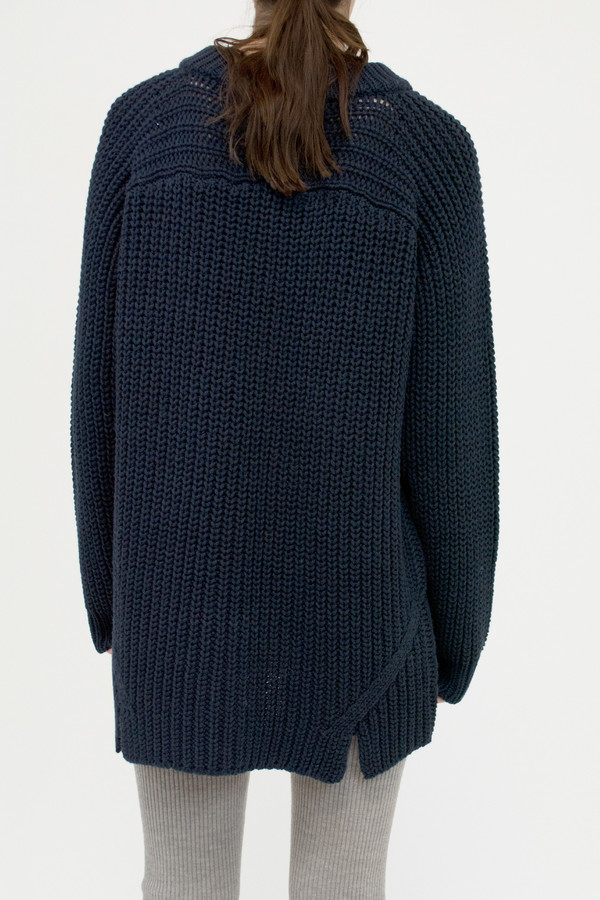 Blue Black Arch Sweater