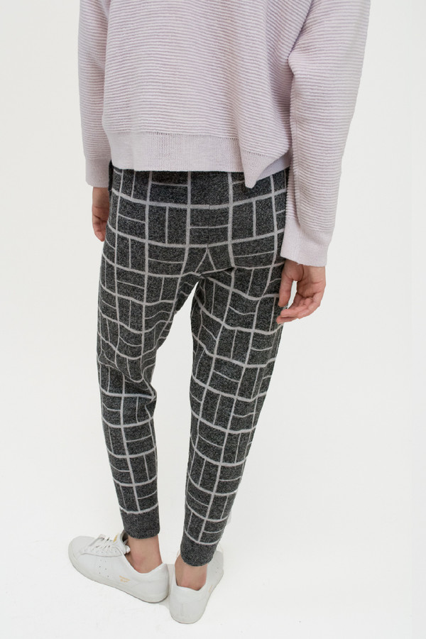 Micaela Greg Grey Block Sweatpant