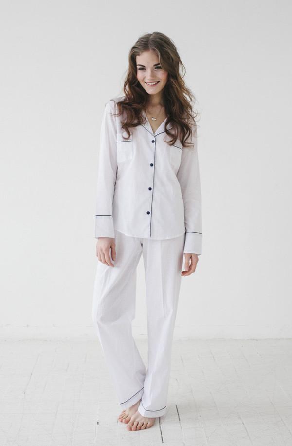 Salua Lingerie Classic Cotton Pajama