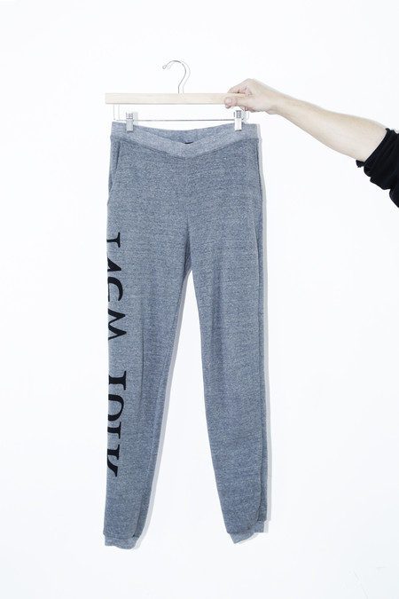 Unisex Assembly Gray Logo Sweat Pant