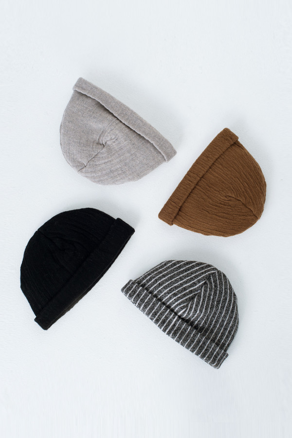 Burnt Sienna Crinkle Hat