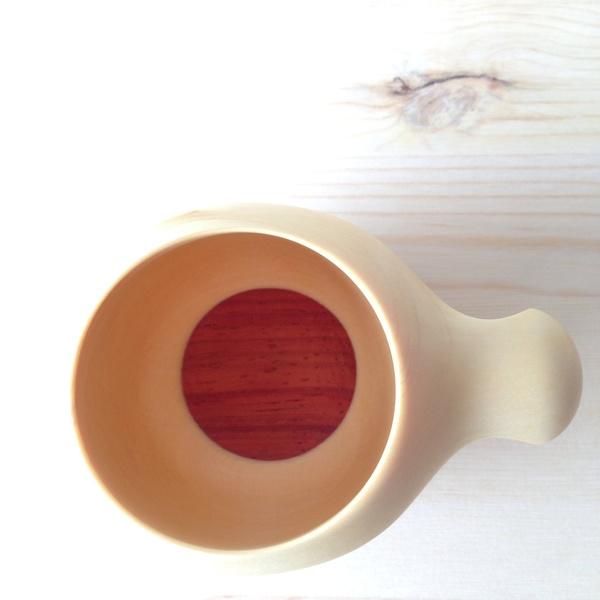 Kijiya Shoda Kyoto Hannari Mug Red