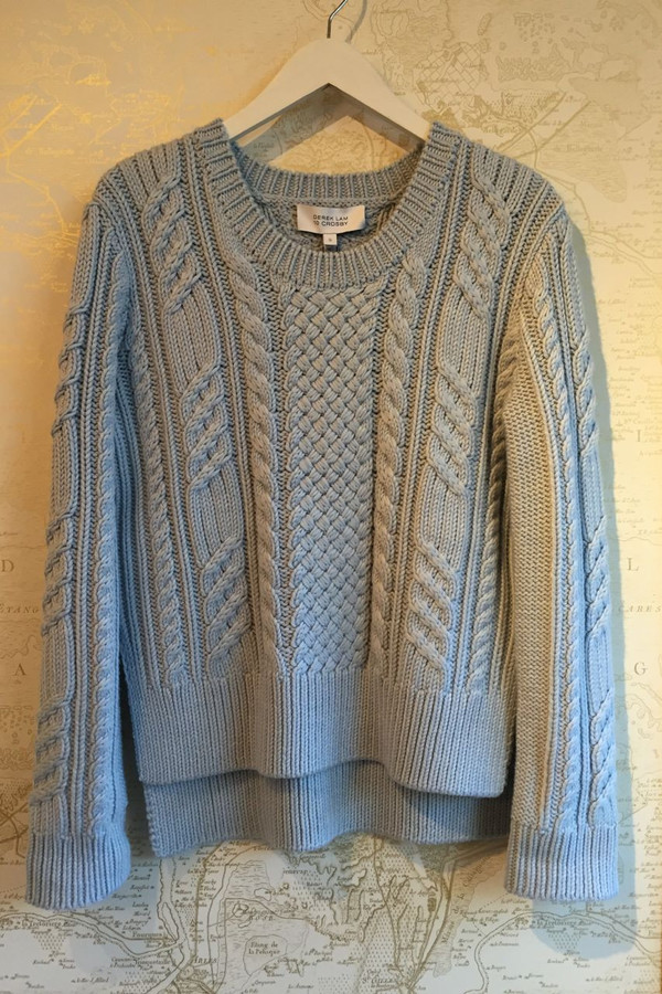 Derek Lam 10 Crosby Cable knit sweater