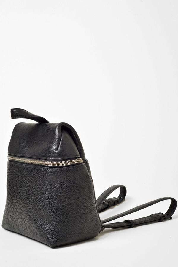 KARA Black Small Backpack