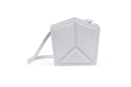 Nº28 Pentatonic Honeycomb in Light Gray