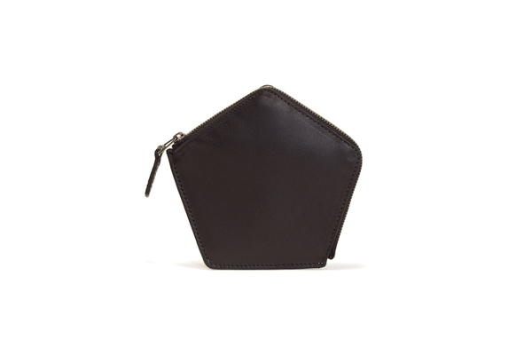Nº22 Penta Wallet in Nude and Black