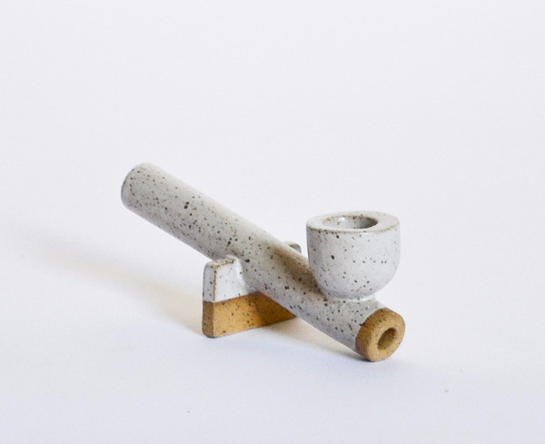 Ben Medansky Ceramic Pipe