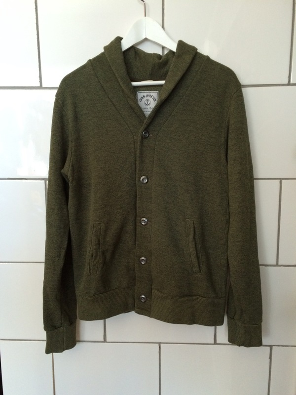 Iron and Resin Olive Fletcher Cardigan
