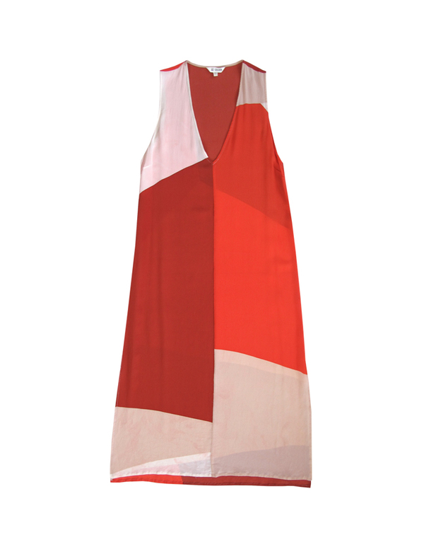ALI GOLDEN TANK DRESS - REDS