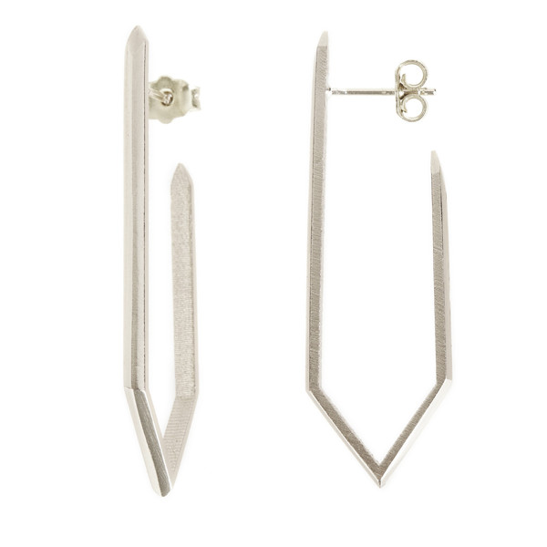 TIFFANY KUNZ - BOUCLES PROVENANCE ARGENT