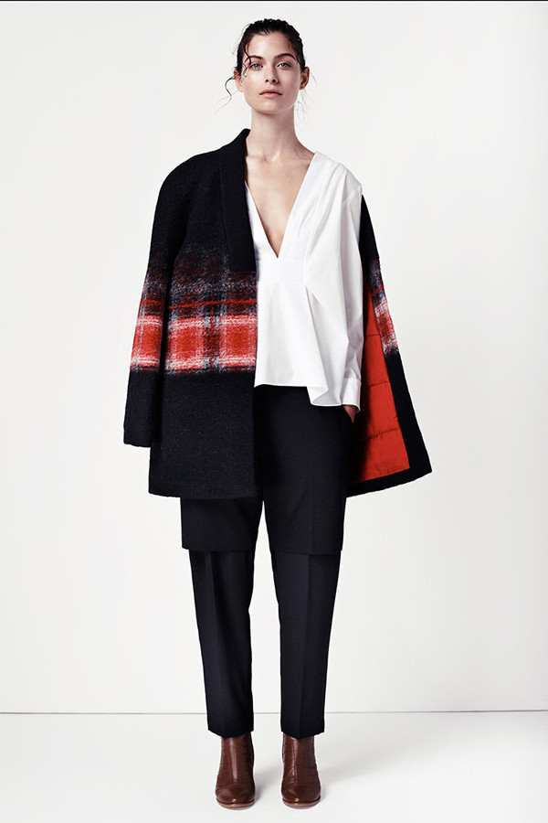 Thakoon Addition Ombre Jacket