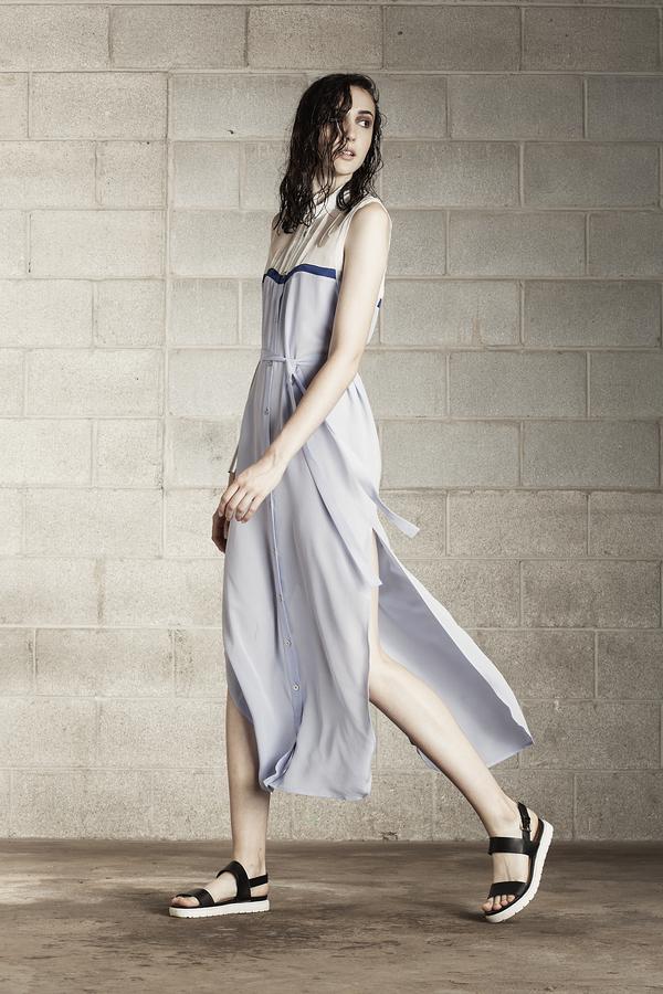Laura Siegel Sleeveless Blouse Dress