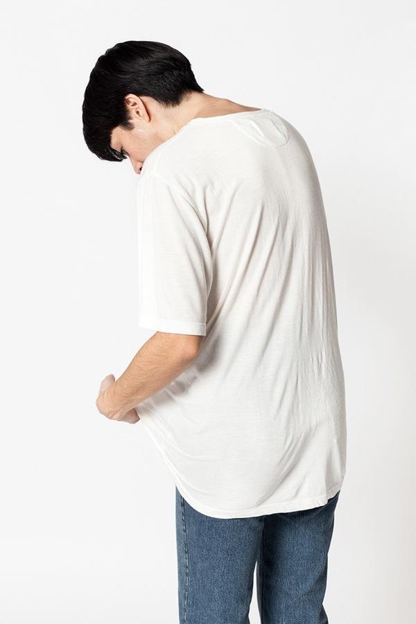 OlderBrother Sorona Logo Tee - white