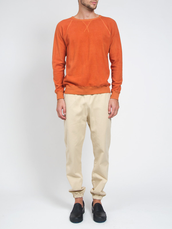 Men's Industry of All Nations Clean Sweatshirt Orange