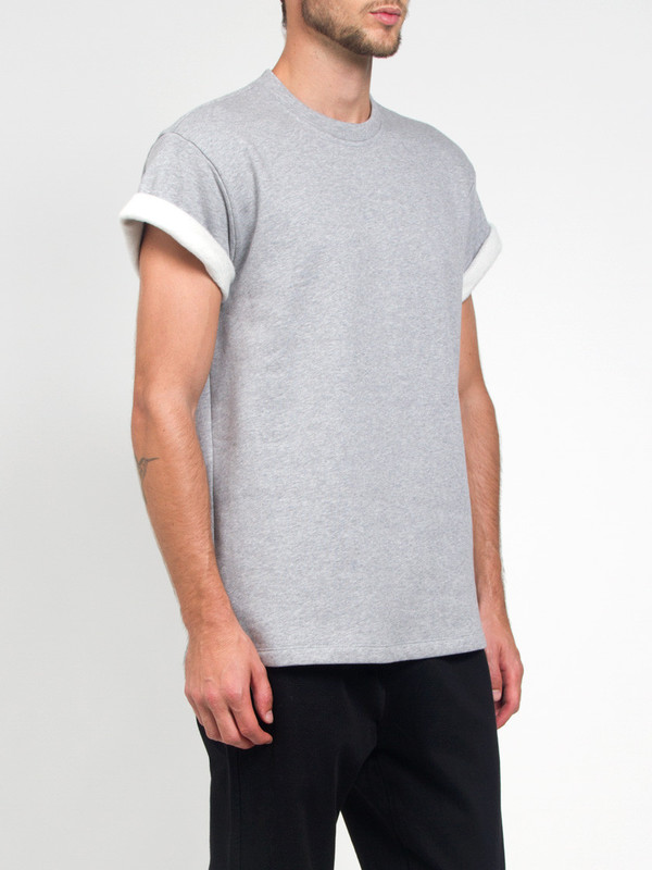 Men's Fanmail Fleece Tee Grey