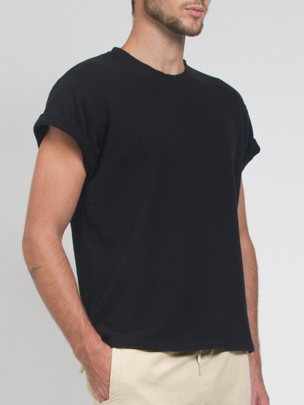 Men's Fanmail French Terry Tee Black