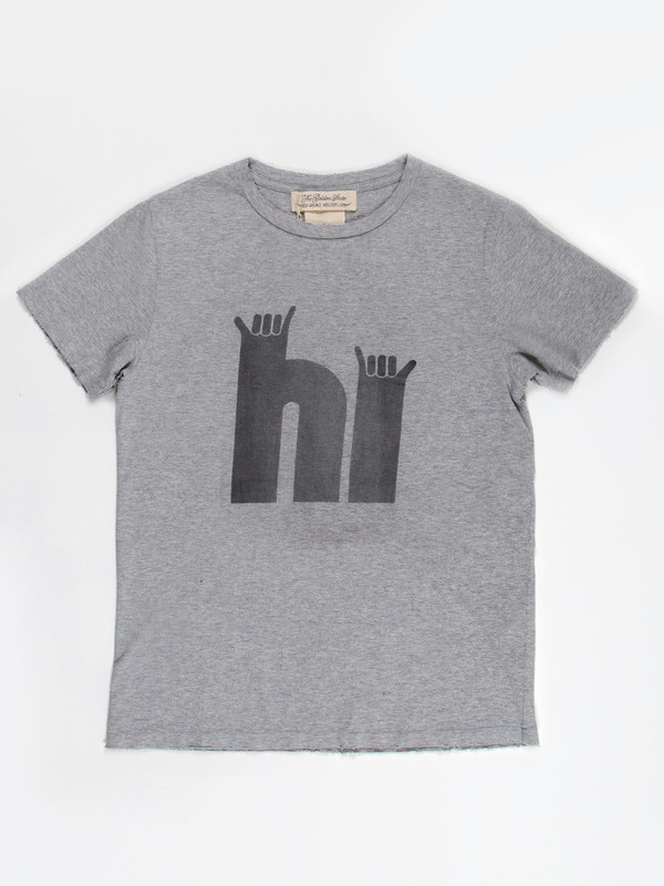 HI Tee Heather Grey