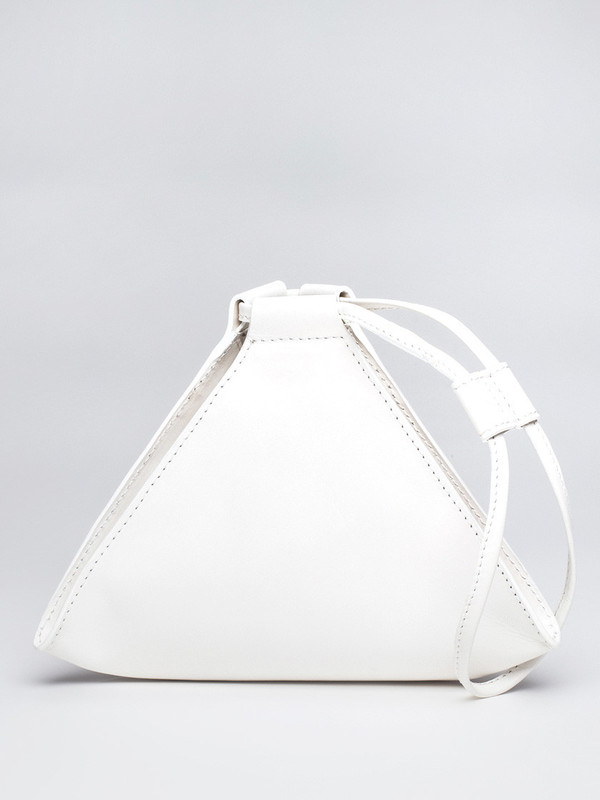 AANDD Pyramid Pouch White