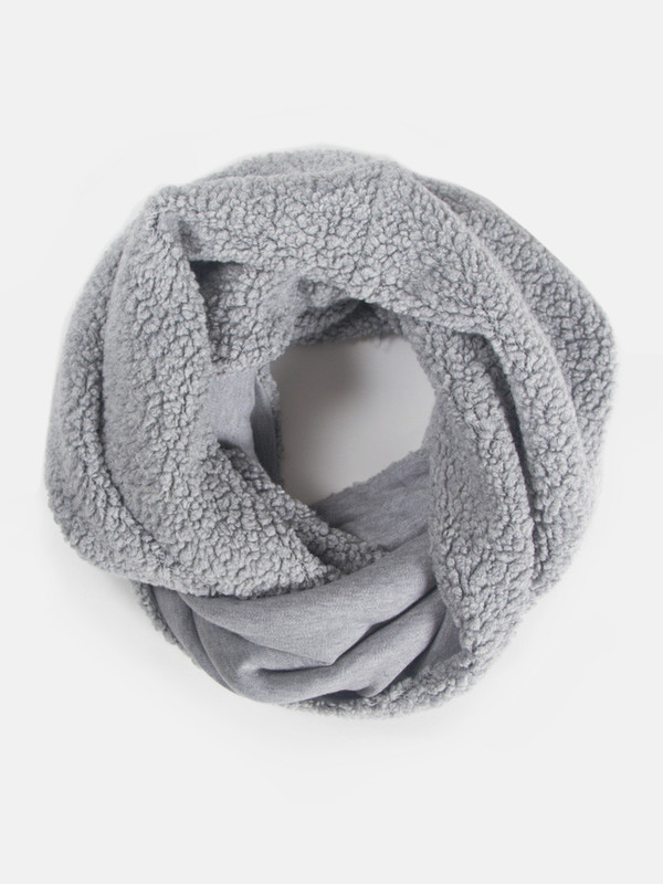 Reality Studio Question Scarf Grey