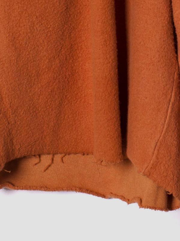 Men's Industry of All Nations Reversed Fleece Shorts Orange
