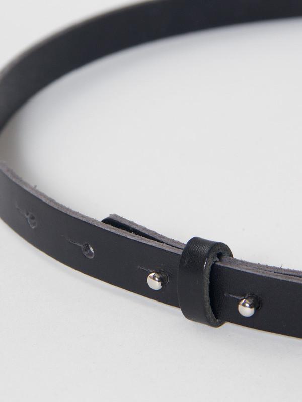 Reality Studio Single Belt Black