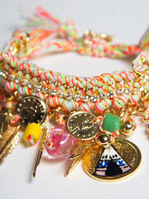 Venessa Arizaga Teepee Time Bracelet