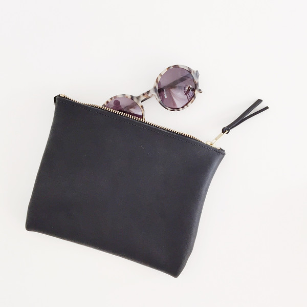 ARA Handbags - Black Clutch No. 1