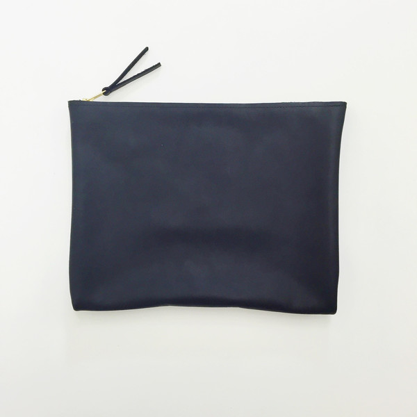 ARA Handbags - Black Clutch No. 4