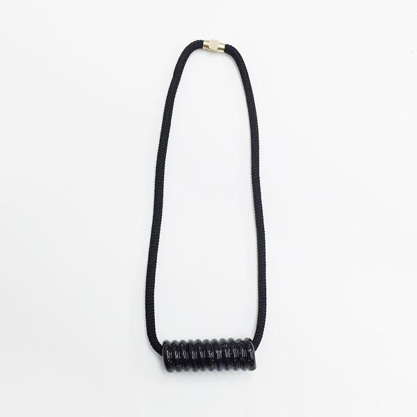 Aubrey Hornor Shiny Coil Necklace