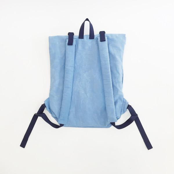 Sacs Roll Top Backpack No. 1 - Indigo