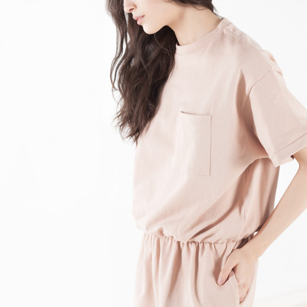 Baserange Short Sleeve Sweat Dress