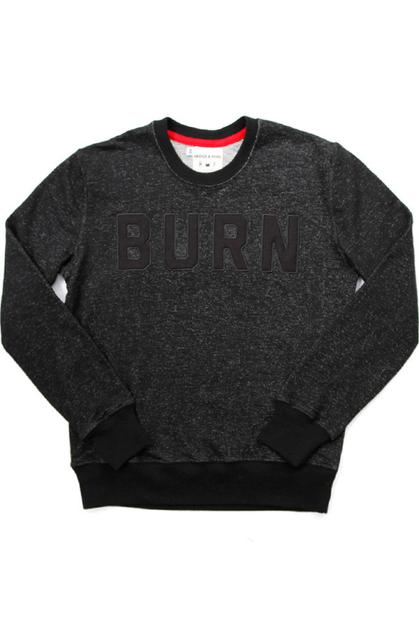 Columbiaknit BURN Women's Crew Black