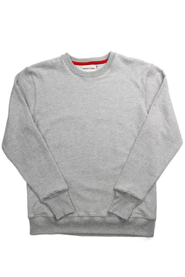 Men's Bridge & Burn Columbiaknit Sweatshirt Grey