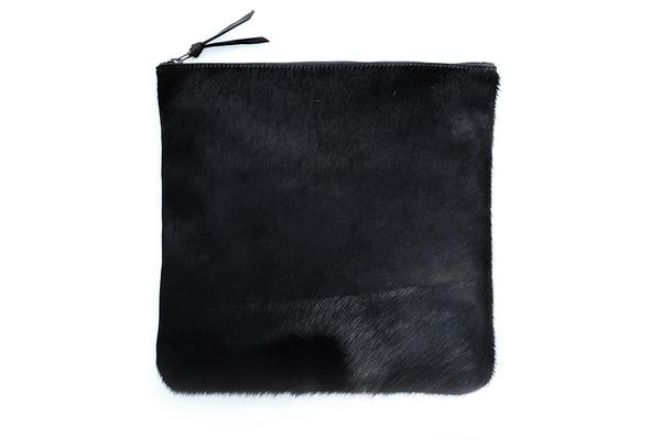 Primecut BLACK FOLD OVER CLUTCH