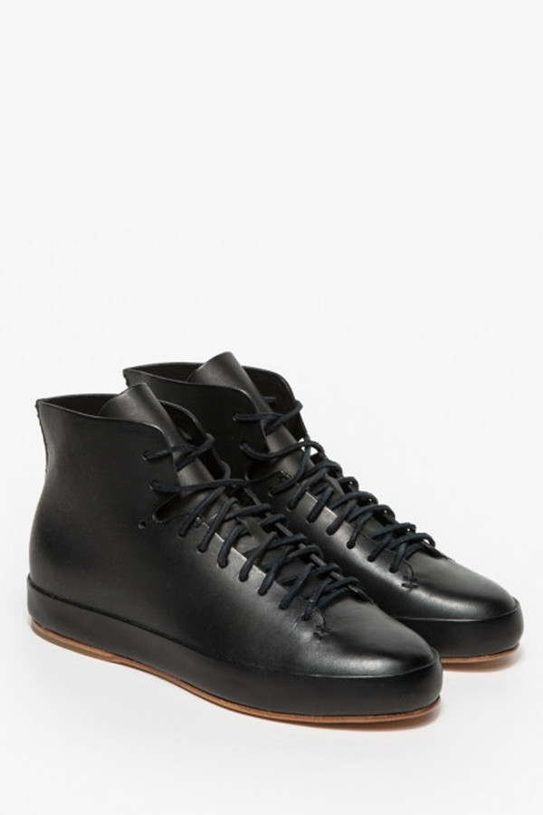 FEIT Hand Sewn Black Leather Shoe