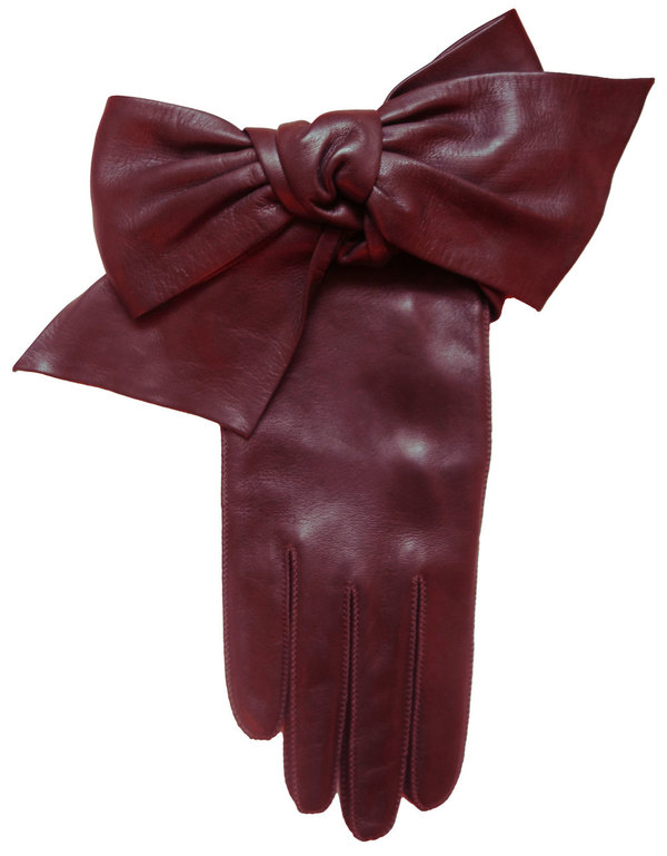 Yestadt Millinery Oversized Bow Gloves